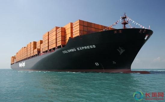 常见的集装箱船